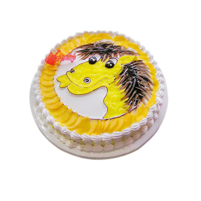 蛋糕盘简笔画可爱